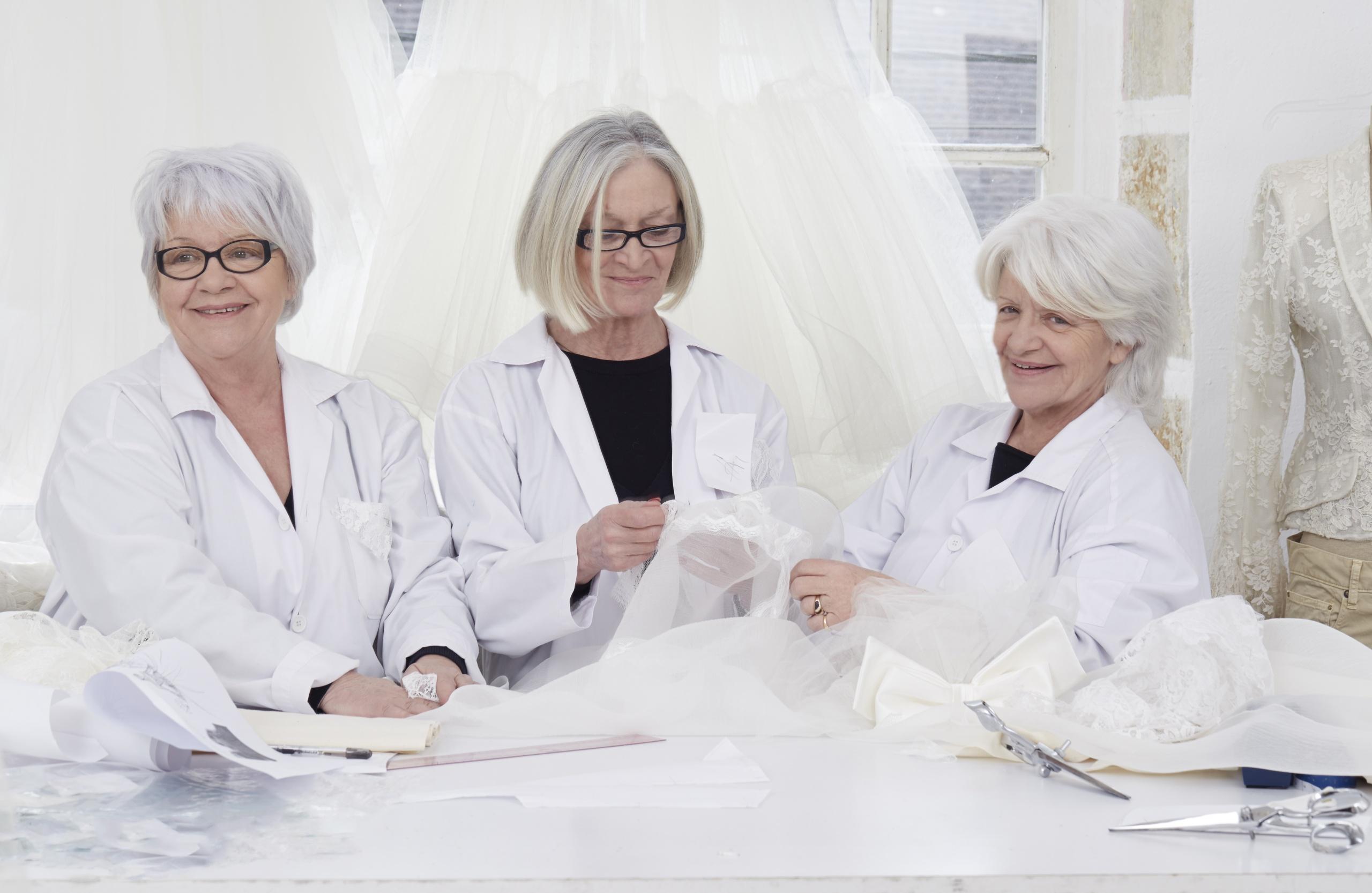 Blog #3 - Des robes de mariée aux masques et blouses: le défi solidaire
